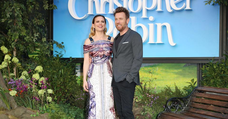 Ewan McGregor and Hayley Atwell (PA Images)