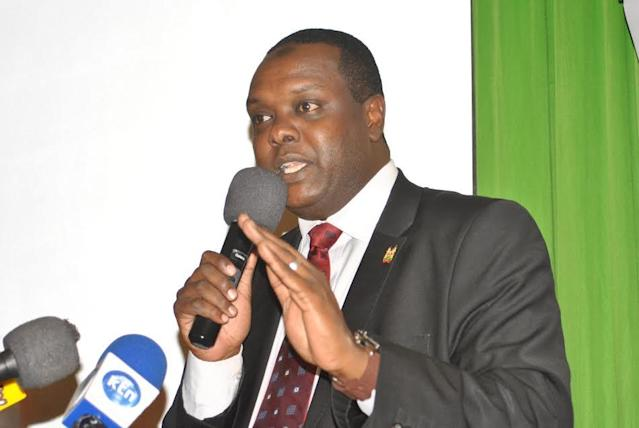 Rashid Mohammed has been appointed the new Sports CS replacing Hassan Wario