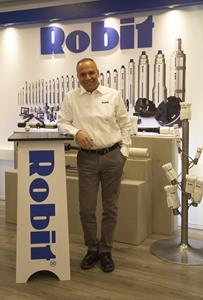 George Apostolopoulos, VP Global Sales of Robit Group