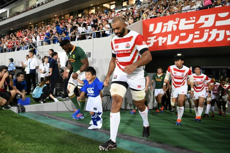 Japan captain Michael Leitch admitted he'd been affected by nerves ahead of Friday's World Cup opener