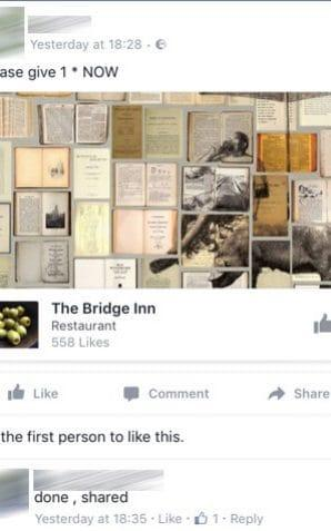 The Bridge Inn in Calver - Credit: Facebook/ Guzelian