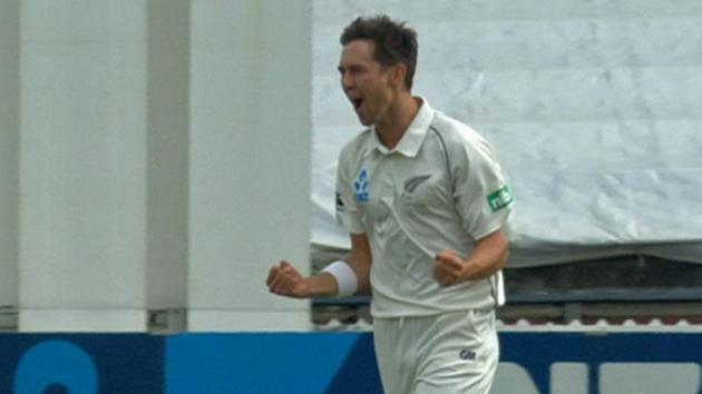 Trent Boult delivered career-best figures of 10-80 as New Zealand thrashed West Indies by an innings and 73 runs