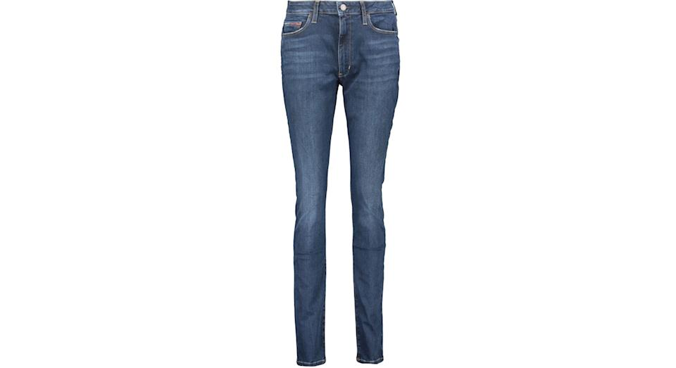 TOMMY JEANS Indigo High Rise Super Skinny Jeans