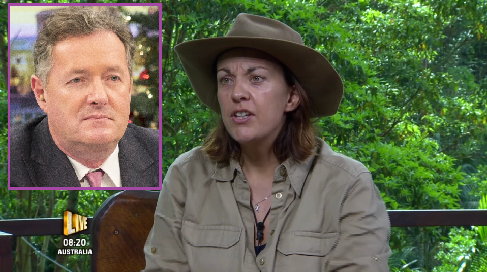Piers was not happy with Kezia's decision. Copyright: [Rex/ ITV]