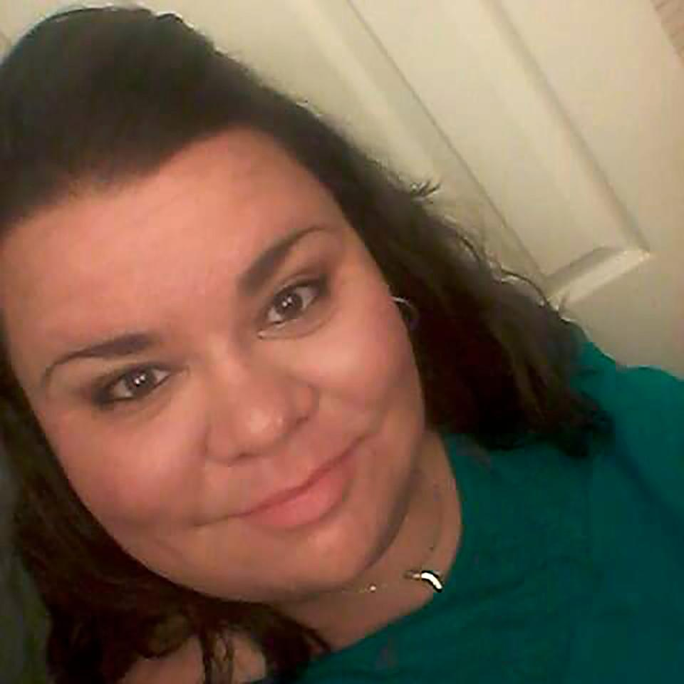 AshLee DeMarinis is shown in an undated photo provided by her sister, Jennifer Heissenbuttel. DeMarinis, a middle school teacher in eastern Missouri's Potosi School District, died Sunday, Sept. 6, 2020, after being hospitalized for three weeks with COVID-19.