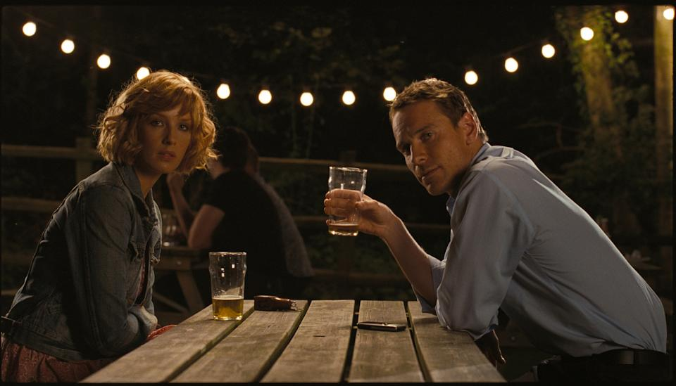 Kelly Reilly and Michael Fassbender in Eden Lake (credit: Optimum)