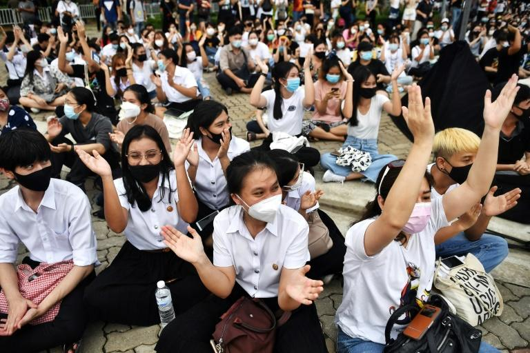 Thai pro-democracy rally attracts thousands as discontent swells