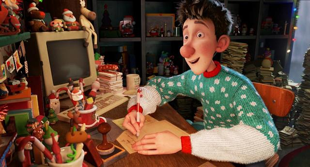 <p>Offering an entertaining glimpse behind the curtain and featuring an A-list voice cast (including James McAvoy, Hugh Laurie, Bill Nighy, and Jim Broadbent), Aardman Studios' underappreciated CG-animated feature tracks three generations of Santa Clauses in this story of how the least likely hero winds up saving the (holi)day. <em>Arthur Christmas</em> deserves a slot in the holiday rotation alongside the Grinch, Rudolph, and Charlie Brown. —<em>M.E.</em> (Available on Amazon, Google Play, iTunes, Vudu, YouTube)<br><em>(Photo: Sony Pictures/courtesy Everett Collection)</em> </p>