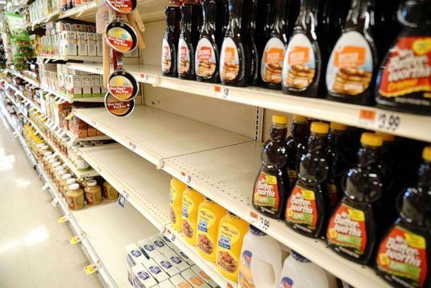 PHOTO: In this June 27, 2020, file photo, Aunt Jemima products have been pulled from supermarket shelves. (John Nacion/STAR MAX/IPx via AP, FILE)