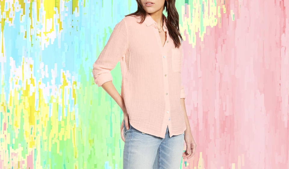 This sophisticated pastel is the cure for April showers. (Photo: Nordstrom)