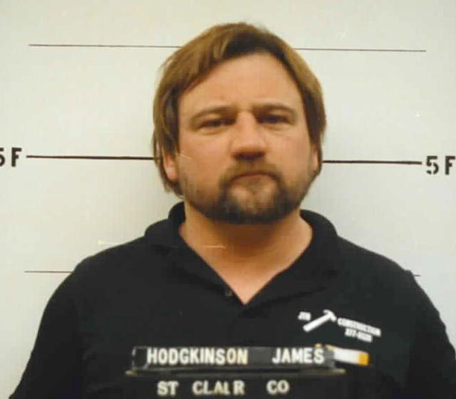 <p>This 1992 photo provided by the St. Clair County. Ill., Sheriff's Department shows James T. Hodgkinson. Officials said Hodgkinson has been identified as the man who opened fire on Republican lawmakers at a congressional baseball practice Wednesday June 14, 2017 in Alexandria, Va. (St. Clair County Illinois Sheriff's Department via AP) </p>
