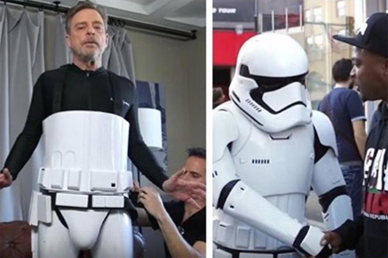 Luke Skywalker himself avoided armies of obsessive <i>Star Wars</i> fans by donning a full Stormtrooper costume to 2018's Comic-Con.