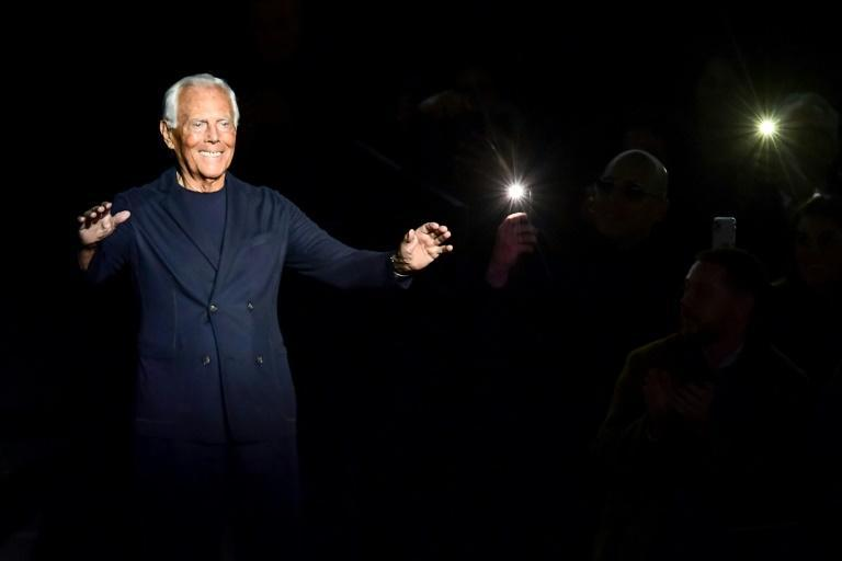 """""""I'm scared, like everyone else I think,"""" 86-year-old Giorgio Armani said as the pandemic swept through Italy last year"""
