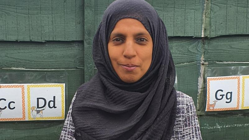 Zarah Hussain runs Zarah's Daycare in Manchester