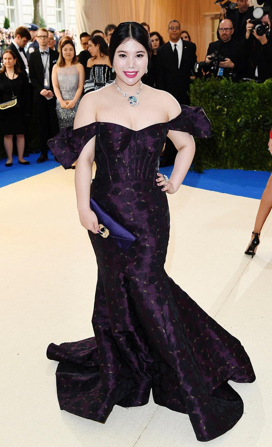"""<h1 class=""""title"""">Wendy Yu in Zac Posen</h1> <cite class=""""credit"""">Photo: Getty Images</cite>"""