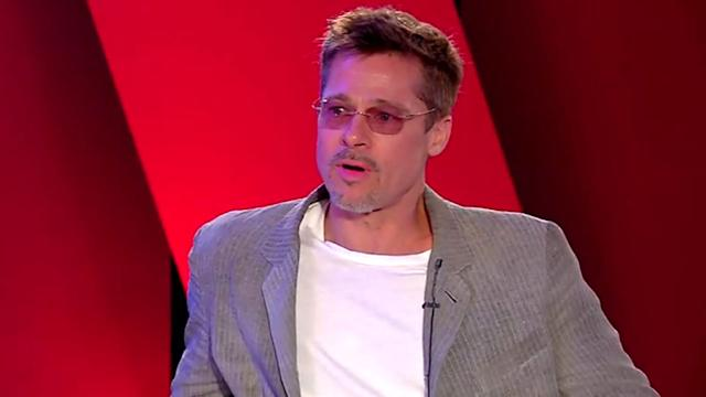 Brad Pitt Says He Can 'Compartmentalize' Private and Public Life