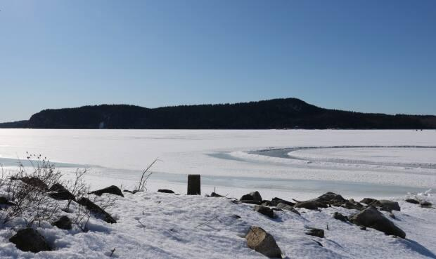 While Long Island is accessible via a short journey over the ice from Rothesay or the Kingston Peninsula, extreme caution is required. The ice has weak spots that can be unpredictable because of the freeze-thaw cycle, brooks and streams running off the island.