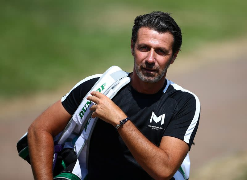 U.S. Open can't be a national championships says Mouratoglou