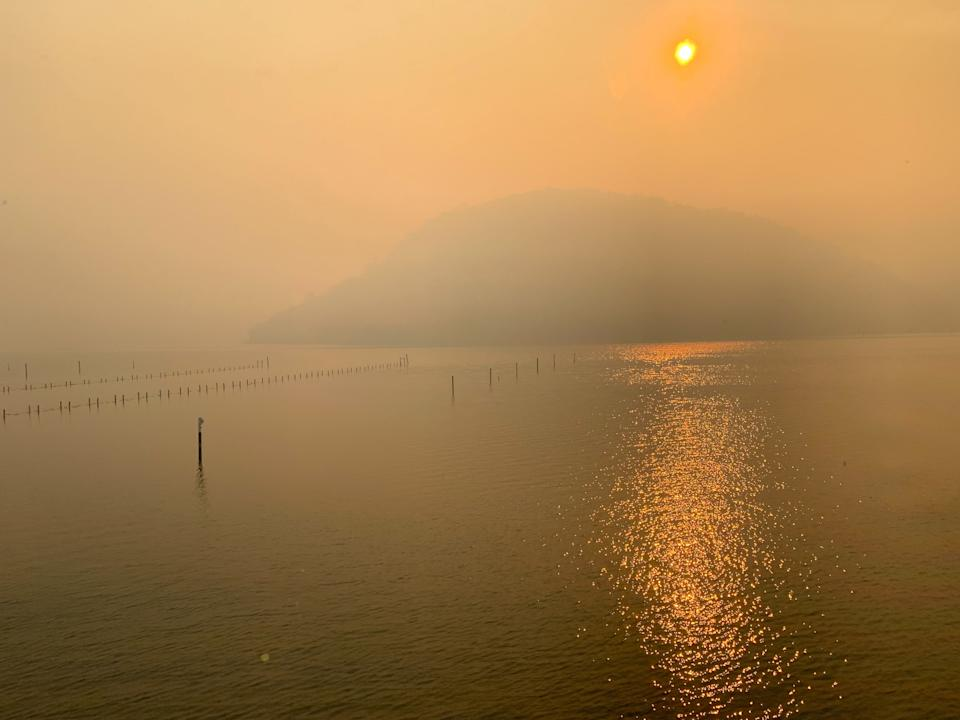 The Hawkesbury River this week. Source: Supplied
