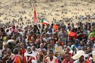 Thousands have been displaced and are housed in refugee camps in Sudan