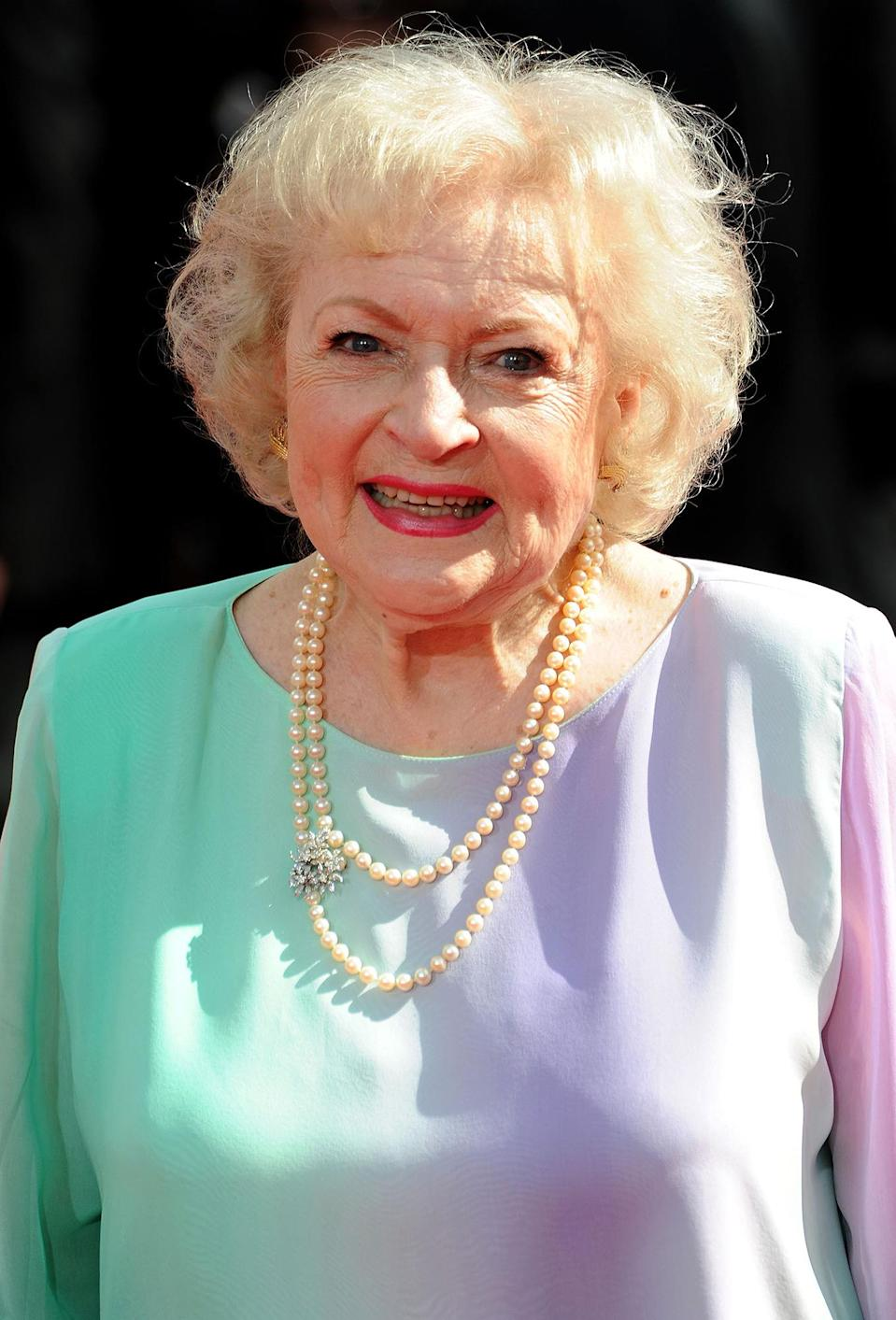 "<p>Now 99 years old, the actress offered a more serious look back on the key to her full and joyful life. ""Don't take yourself too seriously,"" <a href=""https://people.com/tv/betty-white-preps-for-99th-birthday-and-says-a-sense-of-humor-keeps-her-forever-young/"" rel=""nofollow noopener"" target=""_blank"" data-ylk=""slk:she told PEOPLE"" class=""link rapid-noclick-resp"">she told PEOPLE</a>. ""You can lie to others – not that I would – but you cannot lie to yourself.""</p> <p>She also told PEOPLE that she is choosing to focus on the good saying, ""I don't like the other side. The positive side is a lot more fun."" </p>"