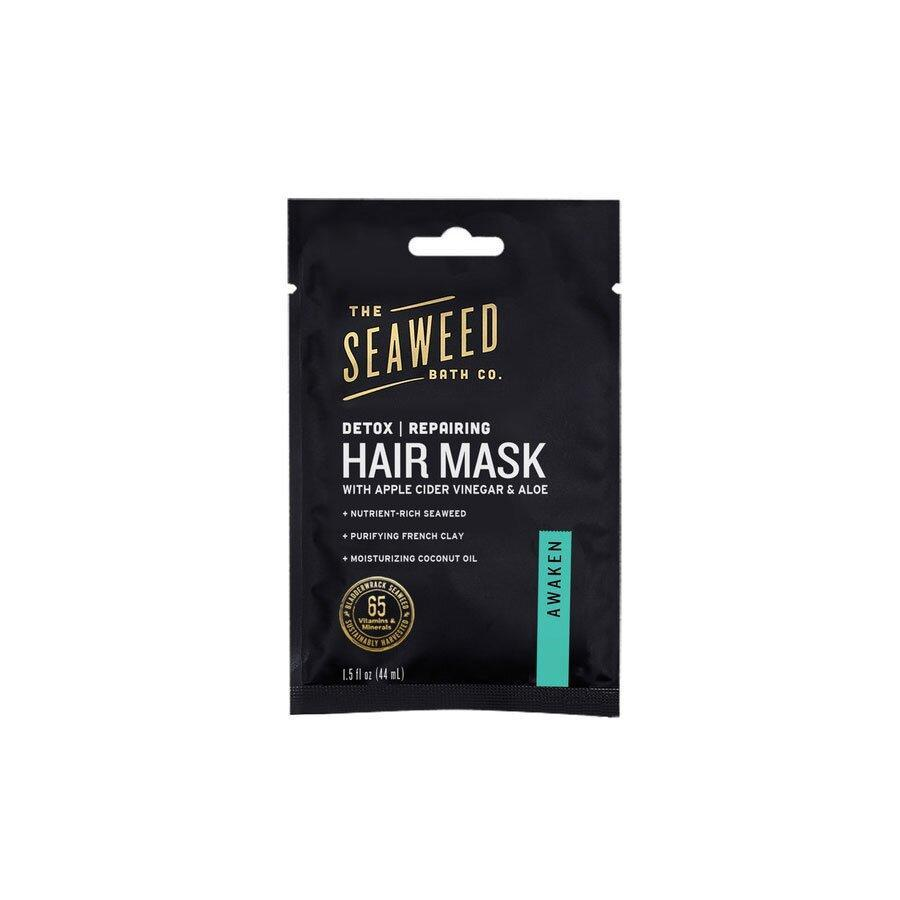 <p>This mask is proof that effective at-home treatments don't always have to be a splurge. Seaweed, apple cider vinegar, and aloe vera detox and reset dry, damaged hair. </p>