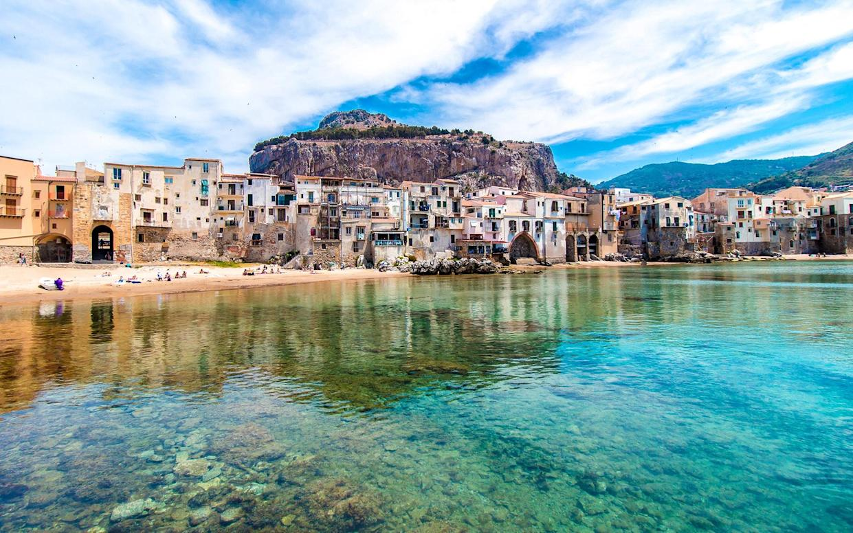 Cefalu, Sicily - This content is subject to copyright.