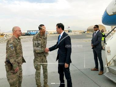 US defence secretary Mark Esper visits Afghanistan to make firsthand assessment of America's longest war