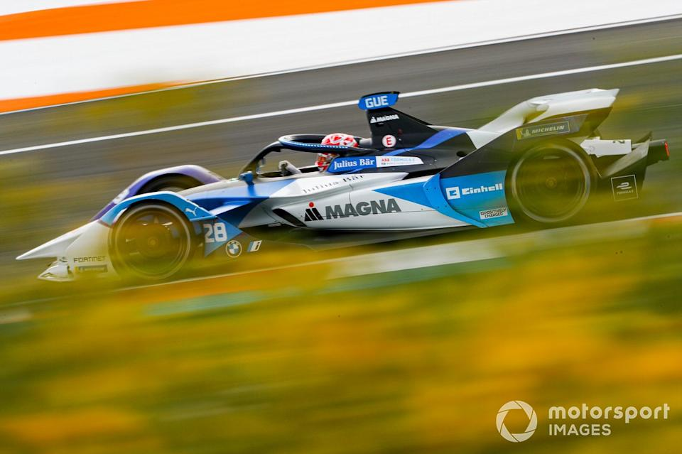 """Maximilian Gunther, BMW i Andretti Motorsports, BMW iFE.21<span class=""""copyright"""">Alastair Staley / Motorsport Images</span>"""