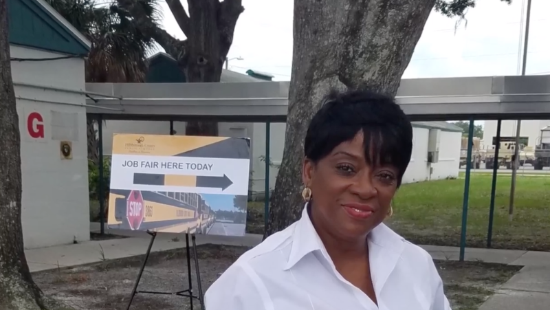 Cynthia Gibson, a bus driver who served Hillsborough County Public Schools for over 30 years, tragically passed away after a car accident on the first day of school on Monday. (Photo: Facebook)