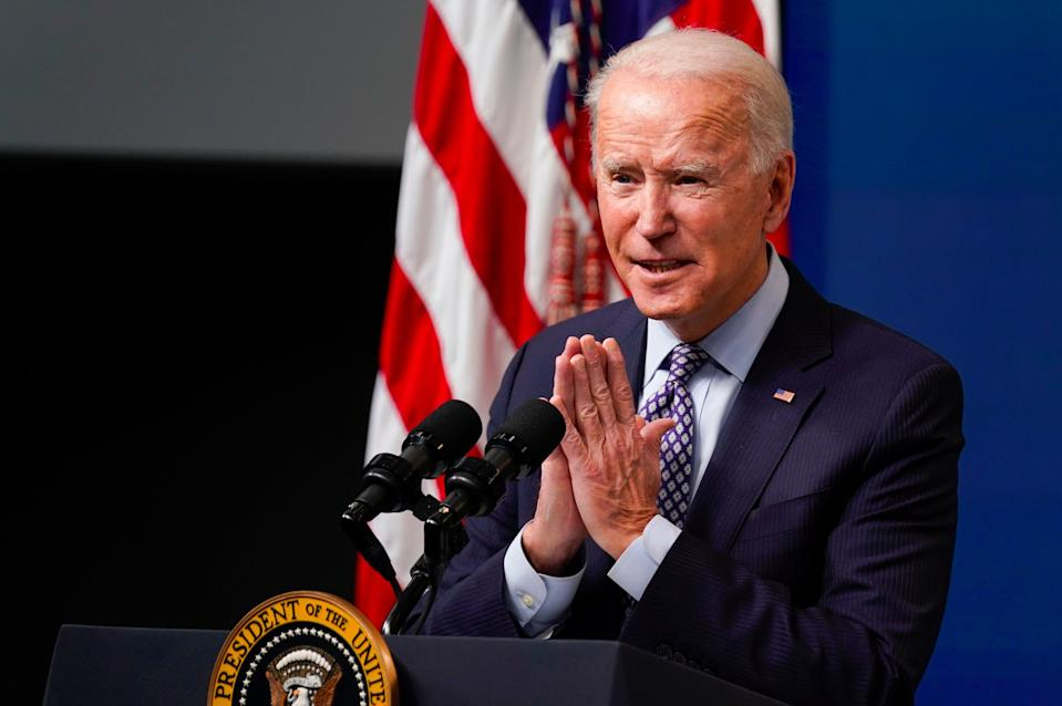 <p>Joe Biden's stimulus package plans could lead to inflation</p> (AP)