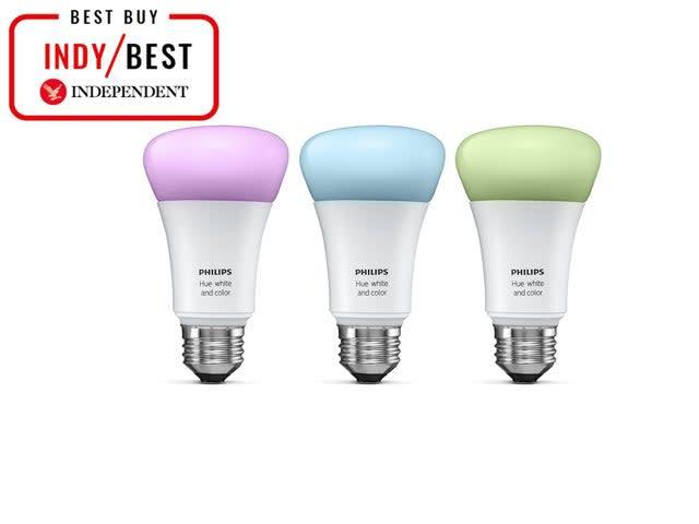 Smart light bulbs are a clever way to add ambiancePhilips