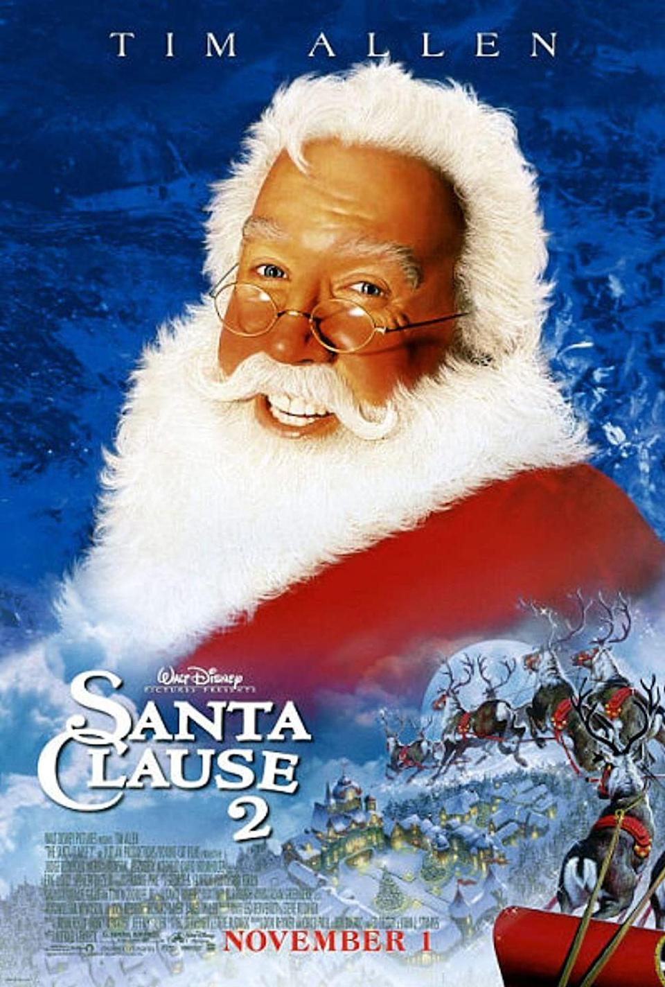 """<p>If you loved the first Santa Clause movie, then you'll be sure to make your list and check it twice to watch the heartwarming sequel which follows Santa in his search for a Mrs. Claus.</p><p><a class=""""link rapid-noclick-resp"""" href=""""https://www.amazon.com/Santa-Clause-2-Tim-Allen/dp/B005BW8MP2?tag=syn-yahoo-20&ascsubtag=%5Bartid%7C10055.g.1315%5Bsrc%7Cyahoo-us"""" rel=""""nofollow noopener"""" target=""""_blank"""" data-ylk=""""slk:WATCH NOW"""">WATCH NOW</a></p>"""