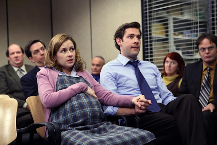 """Pam and Jim were couple goals on """"The Office"""" -- but not in real life."""