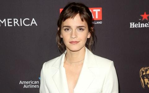 Emma Watson was targeted for recruitment by Allison Mack - but Mack got the wrong Twitter handle - Credit: Jesse Grant/Getty Images North America