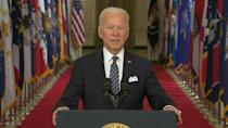 Biden offers Covid-weary US hope even if 'fight' not over