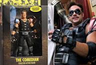 <p>And yes, this is ostensibly Jeffrey Dean Morgan as The Comedian in 'Watchmen.' (Photo: DC/Everett)</p>