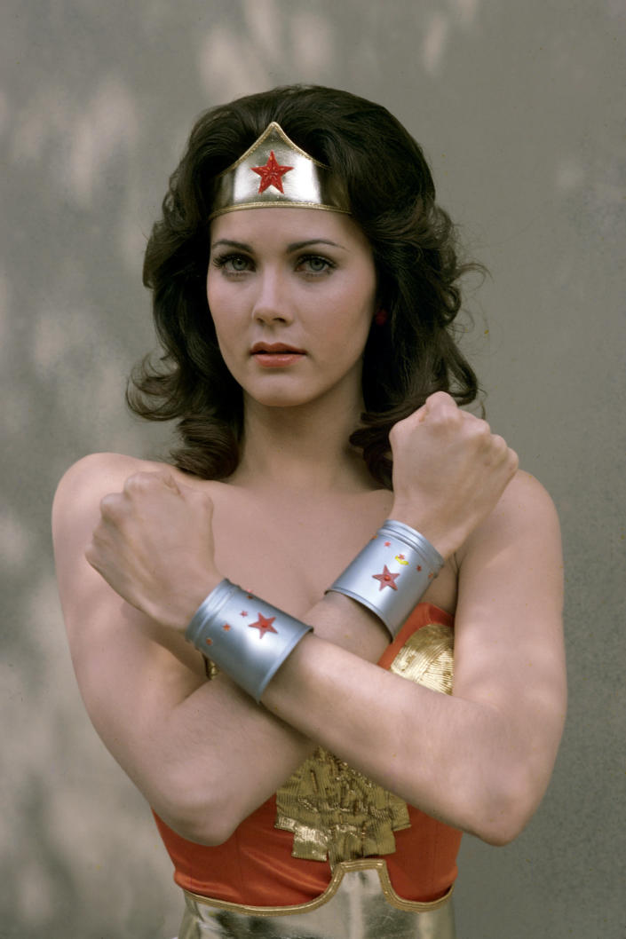 Carter played Wonder Woman on the 1970s TV show of the same name. (Photo: Walt Disney Television via Getty Images Photo Archives/Walt Disney Television via Getty Images)
