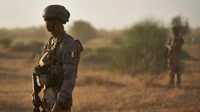 Burkina Faso French soldiers