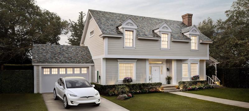 Tesla Is Releasing A Solar Roof Calculator To Show If Your