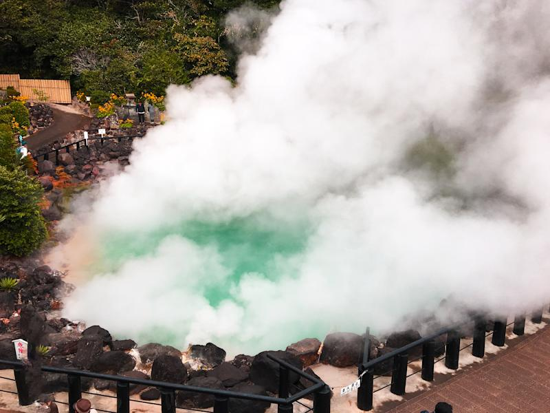 Kyushu is bursting from the seams with hot springs. Photo: Supplied.