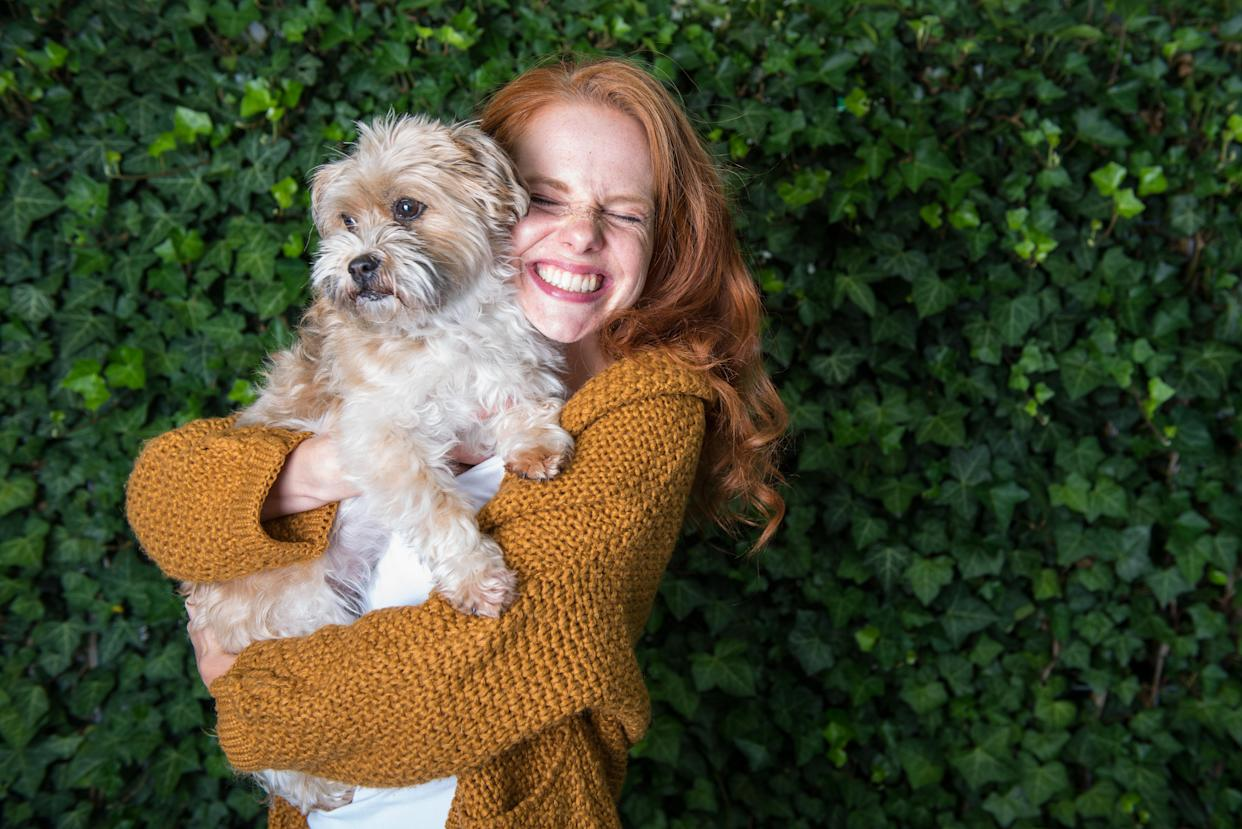 Dogs really do boost our wellbeing. (Stock, Getty Images)