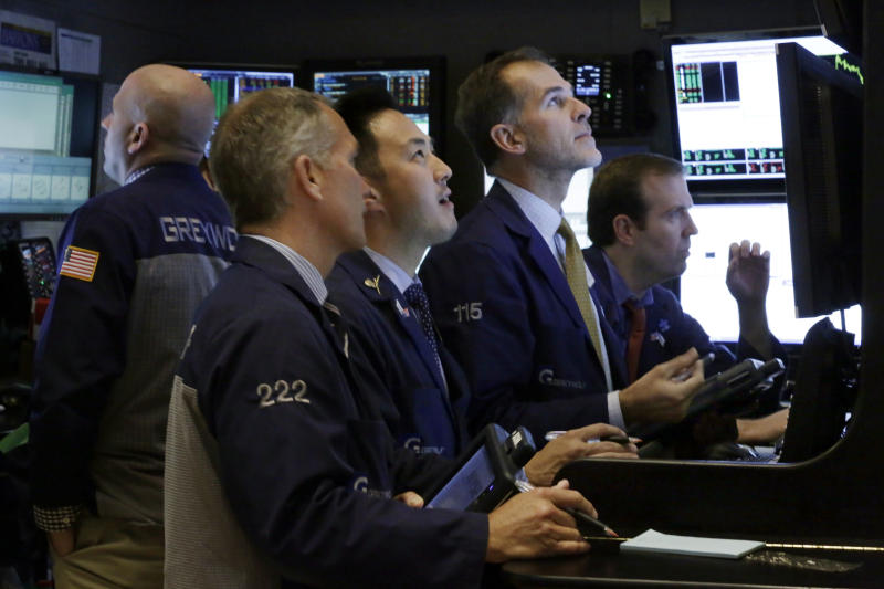 Stocks open mostly lower on Wall Street