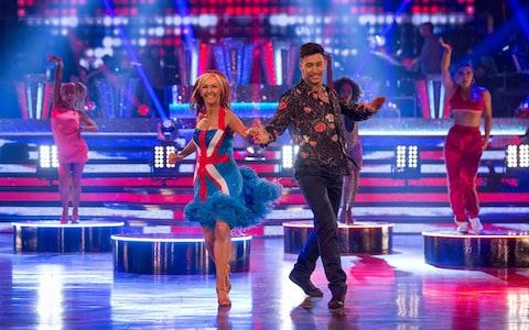 Debbie McGee and Giovanni Pernice, who are still the favourites to win, perform on Saturday night