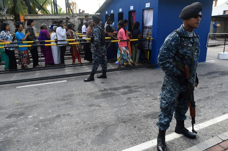 Armed police have been deployed at churches since the attacks, while hotels have adopted airport style security measures