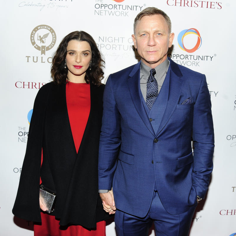 Daniel Craig opts to keep his life, including his marriage to Rachel Weisz, private. (Photo by Paul Bruinooge/Patrick McMullan via Getty Images)