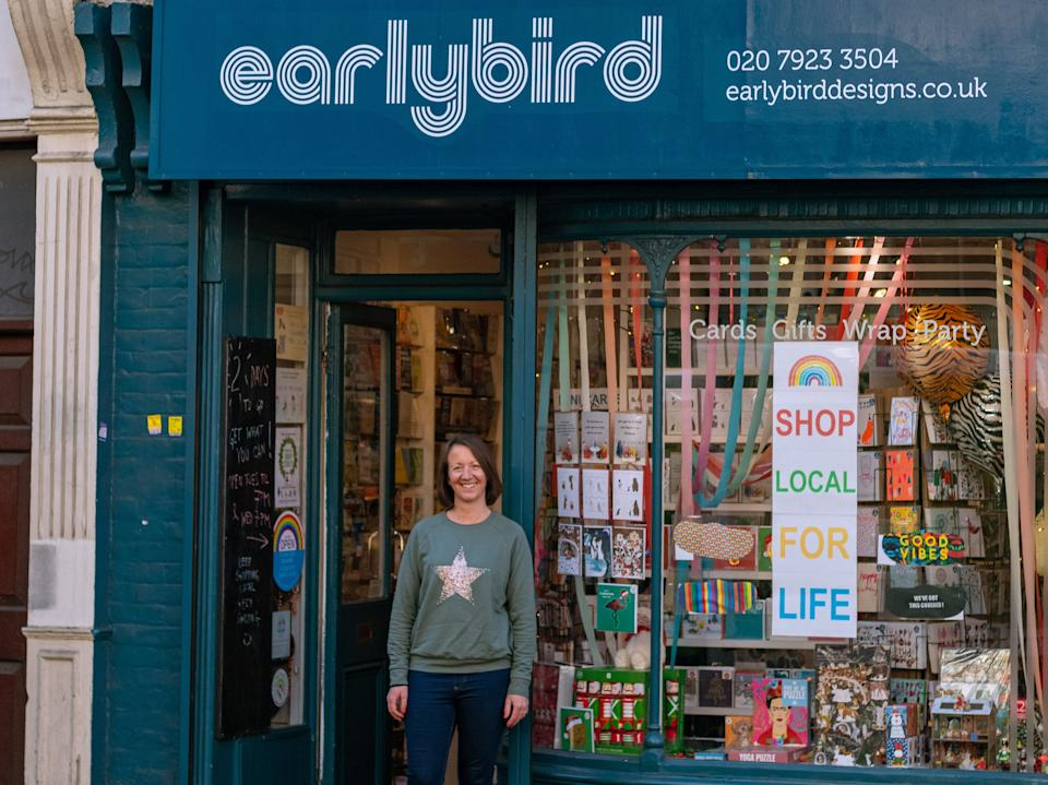 <p>Heidi Early has run Early Bird Designs in Stoke Newington for 16 years</p>photographer: Colum O'Dwyer