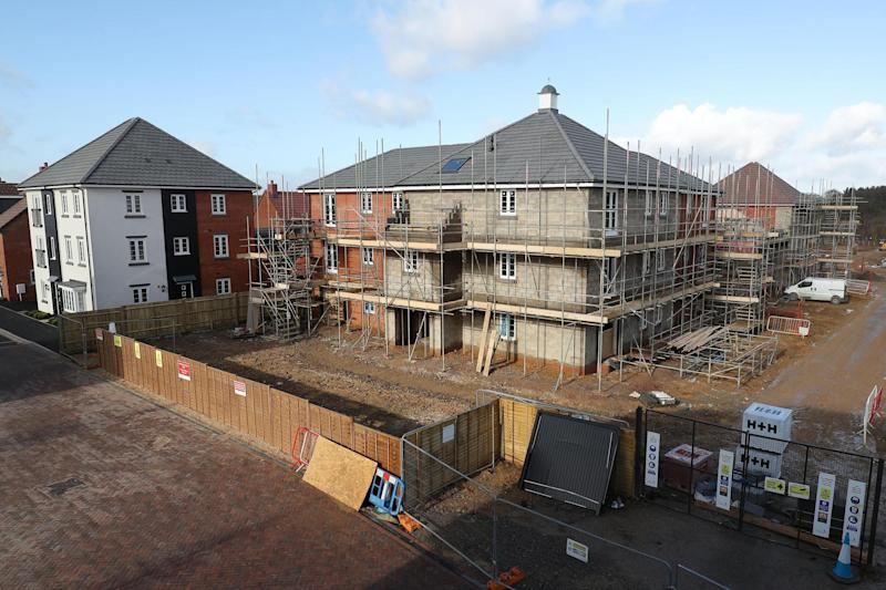 Under construction: there is a chronic shortage of new homes in the south east: PA