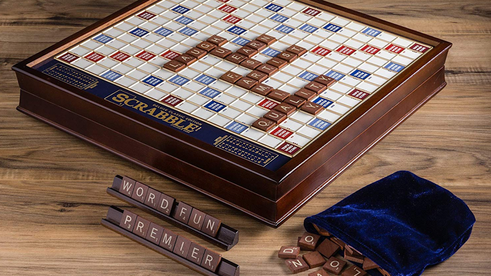 Best gifts for book lovers: Deluxe Scrabble