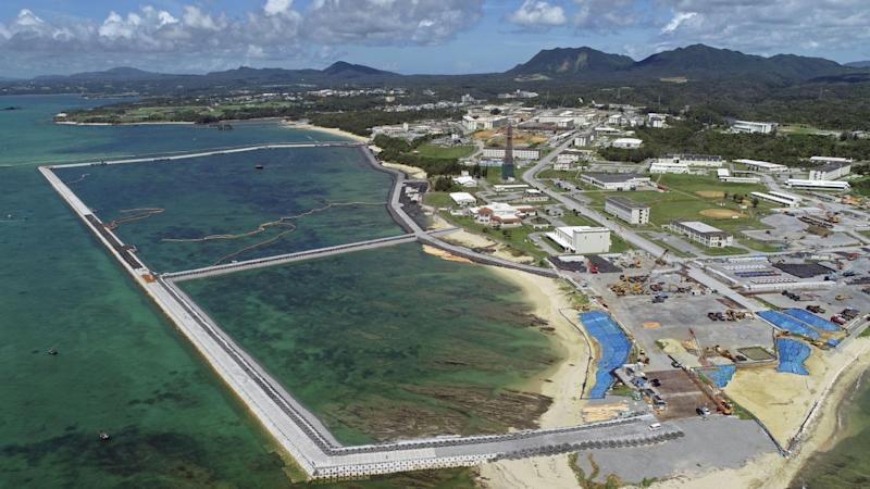 As US frets over China and North Korea, Okinawa looks stuck with its military base
